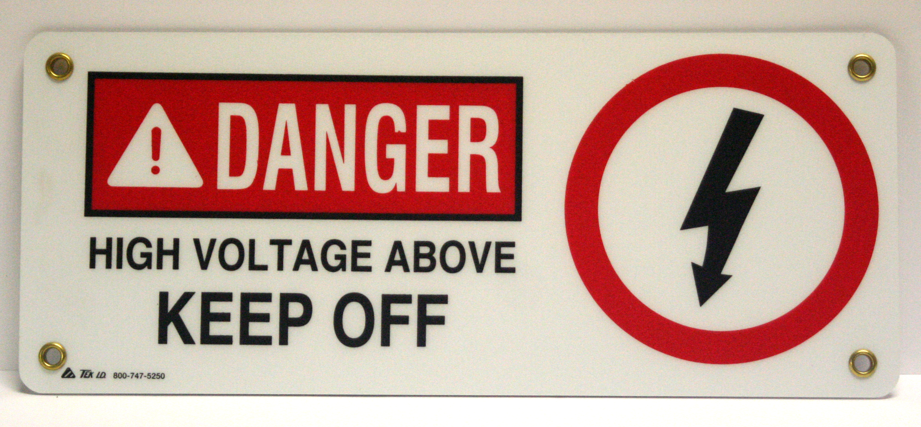 danger, high voltage, keep off, sign
